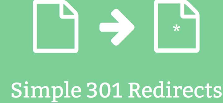 simple 301 redirect