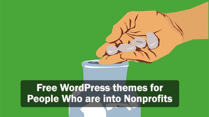 Free WordPress themes for people who are into nonprofits