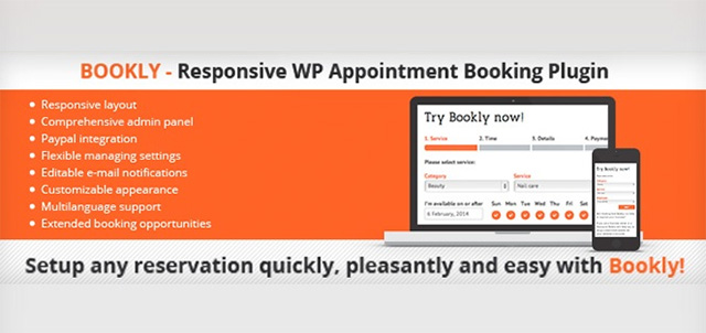 Bookly WordPress plugin