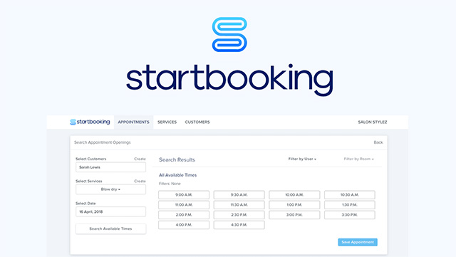 StartBooking WordPress plugin