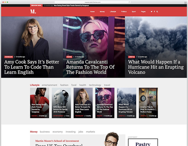 NewStar - News Magazine Newspaper