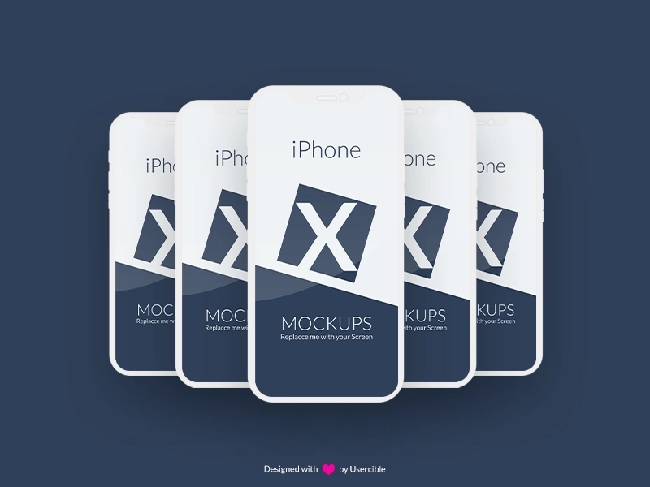 Free Iphone X Mockup By Usercible by Userciblé UX Consulting