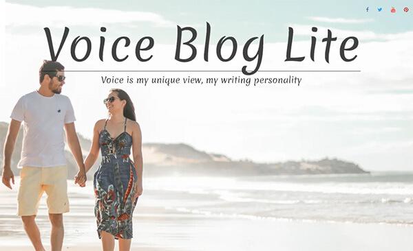 Voice Blog Lite