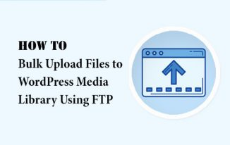 How to Bulk Upload Files to the WordPress Media Library Using FTP?