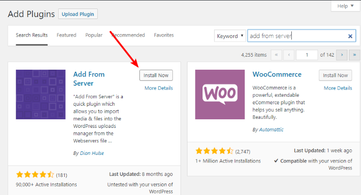Upload Files to WordPress Media Library plugin