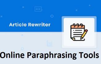 Free & Paid Essential Online Paraphrasing Tools