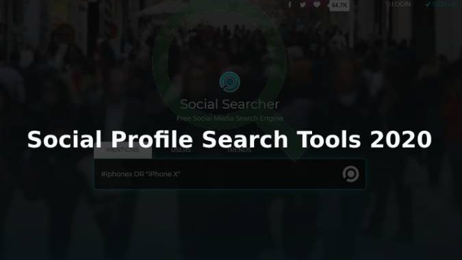 6 free Social Profile Search Tools 2020 To Fetch Social Record