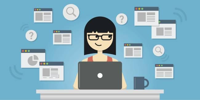 selecting write website